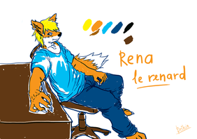 Rena le renard (done) by Draconica5