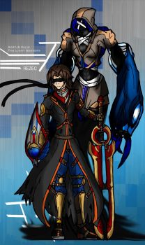 SOULBANE///AGRO AND XALIA by KnightSlayer115