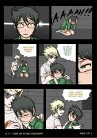 HS LC - minicomic jake: Be in pain p1 by ChibiEdo