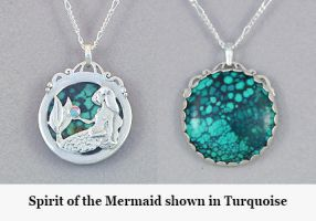 Spirit of the Mermaid by KellyMorgenJewelry