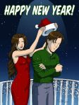 Happy New Year by Dirk Tiede by ArtTrade-Revolution
