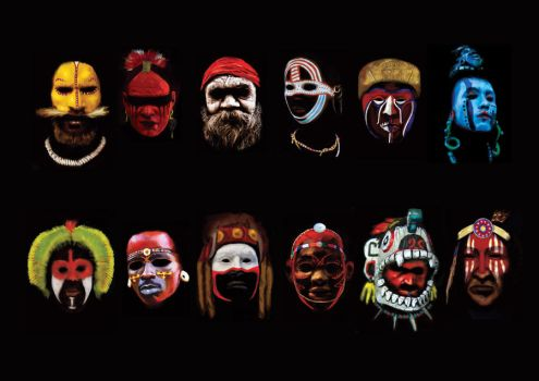 WORLD WARRIORS FACE PAINT by joseabcclemente