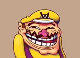 Wario Troll Face, oh ya by Cheddinator