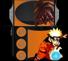FREE Layout 'Naruto Reflected' by TifaFFun