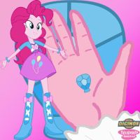 Pinkie Pie Equestria Girls Crest of Laughter by Sasami87