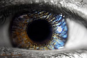 Eye Project: A Cover Up (contact lens) by ShineeDragon
