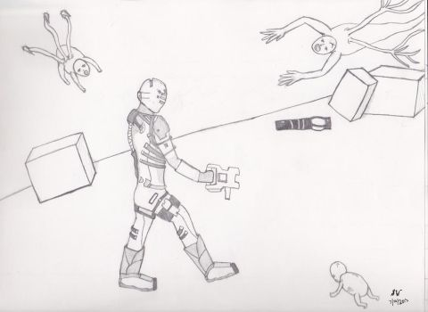 Dead Space Before Coloring by swhitti02