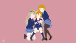 Printemps (Love Live!) Minimalist Wallpaper by Lucifer012