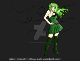 Green Vamp 2013 Colored by pink-marshmallows