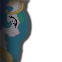 mlp:fim princess celestia vector by pintara