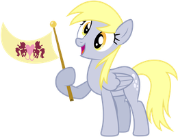 Derpy Celebrates Her Return! by Yanoda