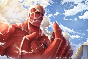 Colossal Titan by Erde27