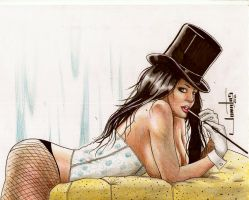 in ebay zatanna by amorimcomicart