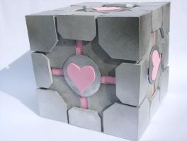 Portal-The Companion Cube by Hyokenseisou-Cosplay