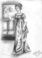 Maiden of the 1800's by LizleMouton