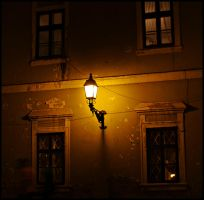 Lamp and windows by Csipesz