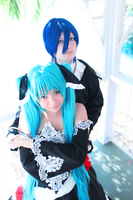 Vocaloid- Couple by Rose-Curel