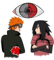 Madara vs Pein by RussianKunoichi