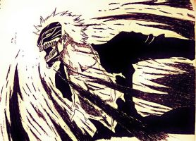 Bleach: Hollow Ichigo Vizord by trazor29