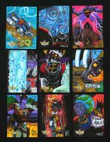 5FINITY: Voltron DE Card Set 3 by fbwash