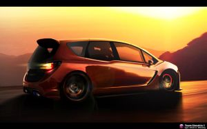 Opel Meriva WTB Rear view by DURCI02
