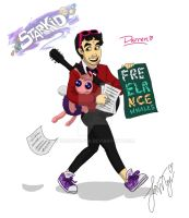 Team Starkid - Darren Criss by OukaWolf46