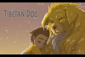 The Tibetan Dog by azzai
