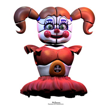 Circus Baby - WIP by N-Faxxo