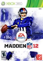 Madden NFL 12: Eli Manning Cover by chronoxiong
