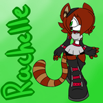 Sonic Oc: Rachelle the Red Panda by StarBurstAndRosieMLP