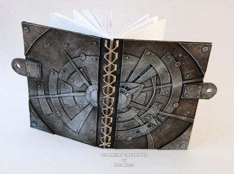 Metal Sun Notebook by Diarment