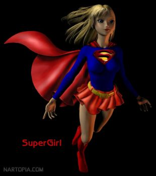 Supergirl by blackzig