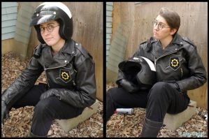 Good Cop Bad Cop Cosplay - Good Cop by Lithe-Fider