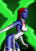 KidNotorious Mystique Colored by juggmaster