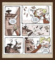 Webcomic - TPB - Lio and the Stork - page 08 by Dedasaur