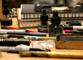 art supplies by wastingtape