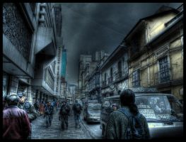 La Paz Downtown by zentenophotography