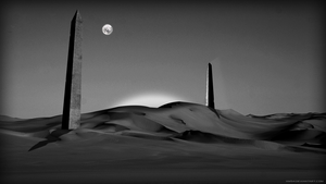 Deserted Obelisks by XM94