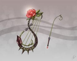Aion Bard Weapon by olli-Art