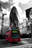 London bus by Moricettekipukipete