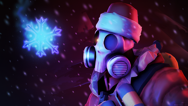 REQUEST: Fiery Santa by ClassicFiction