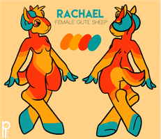 Rachael - Reference Sheet by ihatebeiber