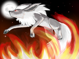Through the  Fire and Flames by PrinceofPride