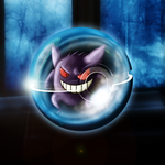 Gengar Pokeball by Marzarret