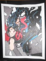 Superboy VS Venom by DeadBoob
