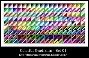 Colorful gradiants collection2 by hhnalin