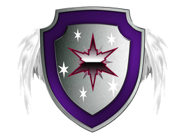 Twilight Sparkle Shield of Royalty TRANSPARENT by SwedishRoyalGuard