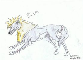 Bulik by NightclawBlackWolf