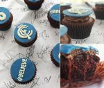 Carlton Cupcakes by cakecrumbs