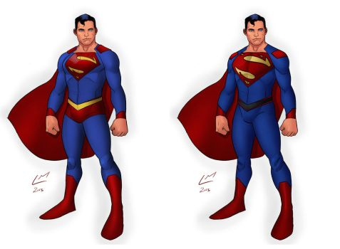 S is for Superman by Mista-M